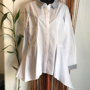 New Too Cute Collared Blouse